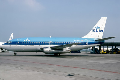 KLM Royal Dutch Airlines, PH-TVR, Boeing 737-200(ADV), msn 22025, Photo by Udo Schaefer, Image J022LGUS