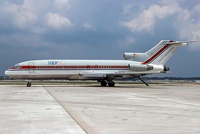 Key Air, N37KA, Boeing 727-95, msn 18858, Photo by Frank Hines, Image I185LGFH