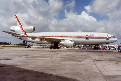 KeyAir, N917JW, McDonnell Douglas DC-10-10, msn 46727, Photo by Eddy Gual Collection, Image U043RGEG