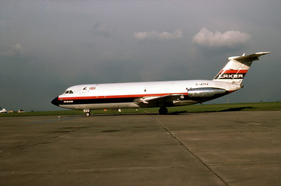 Laker Airways, G-ATPK, BAC-111-301AG, msn 34, Photo by Photo Enrichments Collection, Image V014LGJC