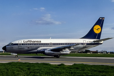 Lufthansa, D-ABHS, Boeing 737-230(ADV), msn 22142, Photo by Photo Enrichments Collection, Image J019LGJC