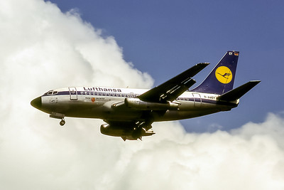 Lufthansa, D-ABEY, Boeing 737-130, msn 19794, Photo by Photo Enrichments Collection, Image J020LAJC