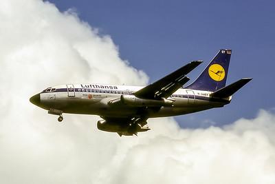Lufthansa, D-ABEY, Boeing 737-130, msn 19794, Photo by Photo Enrichments Collection, Image J020LAJC
