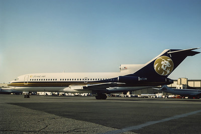 MGM Grand Airlines, N504MG, Boeing 727-191, msn 19395, Photo by Adrian Smith, EWR, Image I063LGAS
