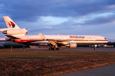 Malaysia Maskargo, N275WA, McDonnell Douglas MD-11, msn 48631, Photo by John A Miller, GSO, Image II07RGJM