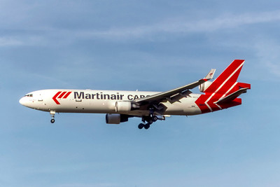 Martinair Cargo, PH-MCU, McDonnell Douglas MD-11(F), msn 48757, Photo by Photo Enrichments Collection, Image II21LAJC