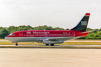 MetroJet, N253AU, Boeing 737-201Adv, msn 22795, Photo by John A Miller, TPA, Image J134LGJM