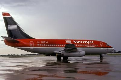 Metrojet, N287AU, Boeing 737-2B7(ADV), msn 23134, Photo by John A Miller, TPA, Image J118RGJM