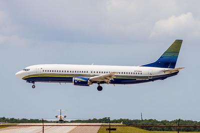 Miami Air, N752MA, Boeing 737-48E, msn 28198, Photo by John A Miller, TPA, Image L037LAJM