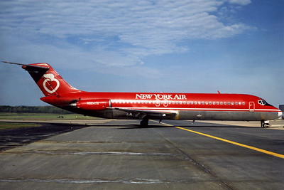 New York Air, N524TX, Douglas DC-9-32, msn 47539, Photo by Udo Schaefer, Image C023RGUS