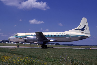 North Central Airlines, N4804C, Convair CV-580, msn 51, Phtoo by Dean Slaybaugh, Image CV014LGDS
