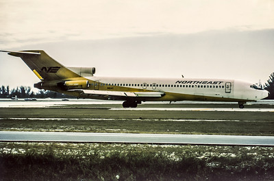 Northeast Airlines, N1640, Boeing 727-295, msn 19445, Photo by Wilfred C. Wann, Jr, Image I046RGWW