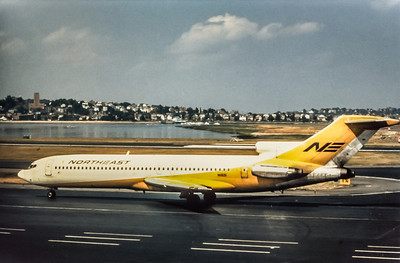 Northeast Airlines, N11651, Boeing 727-295, msn 20249, Photo by Wayne Brown, Image I057LGWB