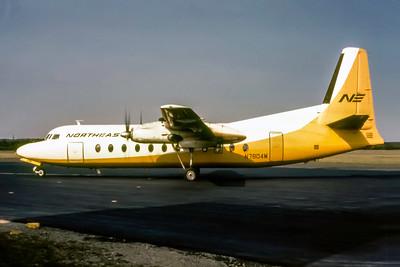 Northeast Airlines, N7804M, Fairchild Hiller FH227, msn 509, Photo by Joe Fernandez, Image E013LGJF