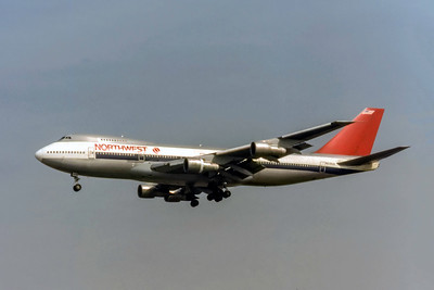 Northwest Airlines, N636US, Boeing 747-251B, msn 23547, Photo by Photo Enrichments Collection, Image M105LAJC