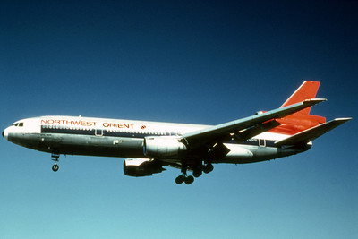 Northwest Orient Airlines, N145US, Douglas DC-10-40, msn 46763, Photo by Photo Enrichments Collection, Image U003LAJC