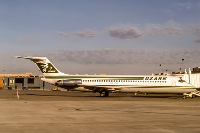 Ozark Airlines, N979Z, McDonnell Douglas DC-9-31, msn 47343, Photo by J. Fernandez Collection, Image C120RGJF