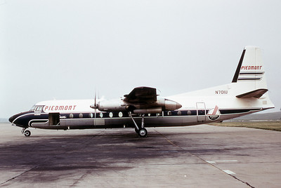 "Piedmont Airlines ""Appomattox Pacemaker"", N701U, FH-227, msn 524, Photo by Dean Slaybough, Image E006LGDS"