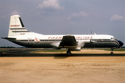 "Piedmont Airlines ""Pamlico Pacemaker"", N219P, NAMC, YS-11A-205, msn 2109, Photo by Photo Enrichments Collection, Image Y007RGJC"