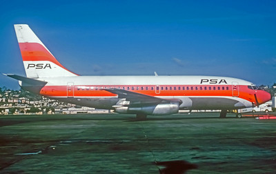 PSA, N3749PS, Boeing 737-214, msn 19682, Photo by Photo Enrichments Collection, Image J002RGJC