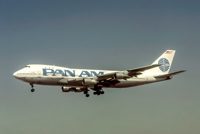 Pan Am, N9674, Boeing 747-123, msn 20326, Photo by Eddy Gual, Image M097LAEG