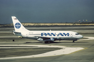 PanAm, N70724, Boeing 737-297Adv, msn 21740, Photo by Wilfred C Wann Jr, Image J038RGWW