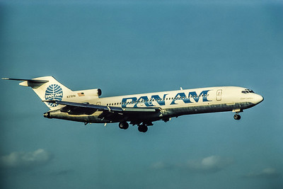 Pan Am, N376PA, Boeing 727-214, msn 20169, Photo by Andrew Abshier, Image I047RAAA