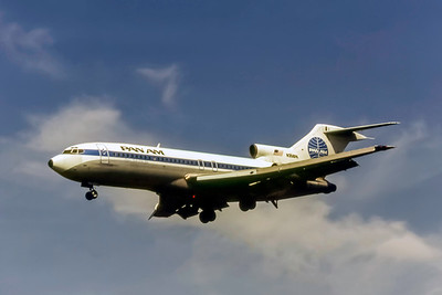 PanAm, Boeing 727-21, msn 19258, Photo by Photo Enrichments Collection, Image I232LASP