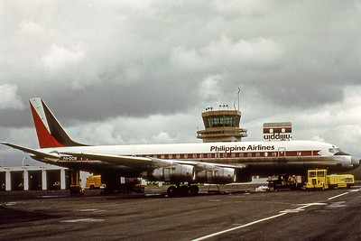 Philippine Airlines, PH-DCW, Douglas DC-8-55CF, msn 45762, Photo by Photo Enrichments Collection, Image B017RGJC