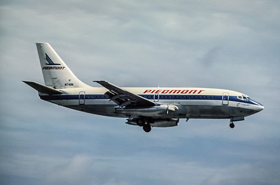 Piedmont Airlines, N741N, Boeing 737-201, msn 20211, Photo by Derek Hellman, Image J058RADH