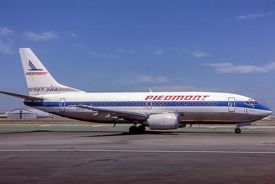 Piedmont Airlines, N313P, Boeing 737-301, msn 23740, Photo by Edwin Tarboot, Image K062RGET