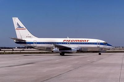 Piedmont Airlines, N793N, Boeing 737-201Adv, msn 22754, Photo by Frank Hines, MCO, Image J149RGFH