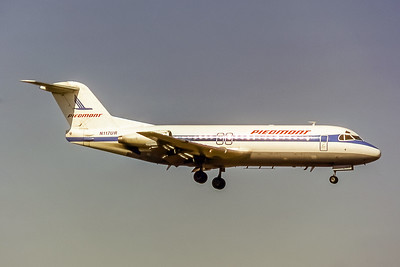 Piedmont Airlines, N117UR, Fokker F-28-4000, msn 11222, Photo by Photo Enrichments collection, Image F003RAJC