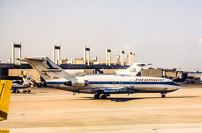 Piedmont Airlines, N838N, Boeing 727-51, msn 18803, Photo by Photo Enrichments collection, DFW, Image I028RG
