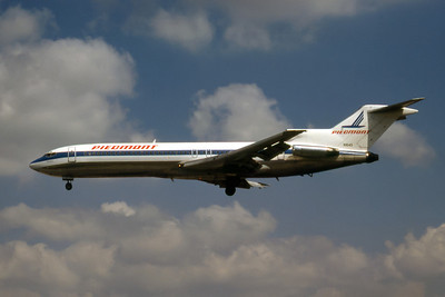 Piedmont Airlines, N1645, Boeing 727-295, msn 20139, Photo by Nigel Chalcraft, Image I080LANC