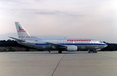 Piedmont Airlines. N314P, Boeing 737-301, msn 23232, Photo by John A. Miller, GSO, Image K002RGJM