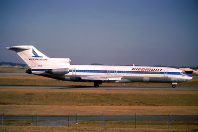 Piedmont Airlines, N1641, Boeing 727-295, msn 19446, Photo by John Stewart, Image I129RGJS