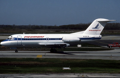 Piedmont Airlines, N281N, F28-1000, msn 11075, Photo by John Stewart, Image F017LGJS