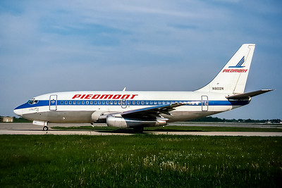 Piedmont Airlines, N802N, Boeing 737-201(ADV), msn 22796, Photo by John Stewart, Image J111LGJS