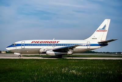 Piedmont Airlines, N802N, Boeing 737-201(ADV), msn 22796, Photo by John Stewart, Image J111LGJS