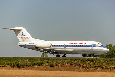 Piedmont Airlines, N287N, Fokker F-28-1000, msn 11087, Photo by Photo Enrichments collection, Image F002RGJC