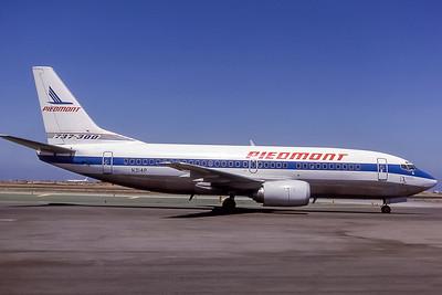 Piedmont Airlines, N314P, Boeing 737-301, msn 23232, Photo by Edwin Tarboot, Image K058RGET