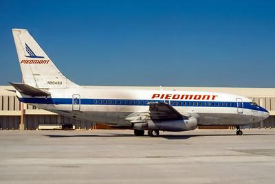 Piedmont Airlines, N9049U, Boeing 737-222, msn 19555, Photo by Derek Hellman, Image J060RGDH
