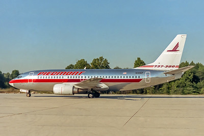 Piedmont Airlines, N306P, Boeing 737-301, msn 23258, Photo by John A. Miller, INT, Image K001LGJM