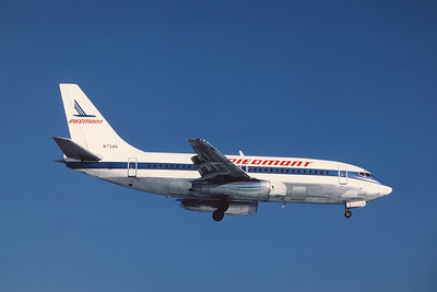 Piedmont Airlines, N734N, Boeing 737-201Adv, msn 19418, Photo by Andrew Abshier, Image J007RAAA