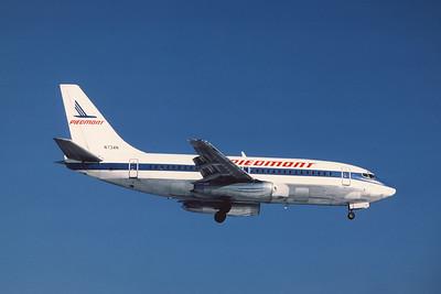 Piedmont Airlines, N734N, Boeing 737-201Adv, msn 19418, Photo by Andrew Abshier, Image J007RAAA