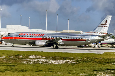 Piedmont Aiirlines, N413US, Boeing 737-401, msn 23882, Photo by David Birtwell, Image L040LGDB