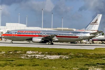 Piedmont Aiirlines, N413US, Boeing 737-401, msn 23882, Photo by David Birtwell, Image L040LGDB
