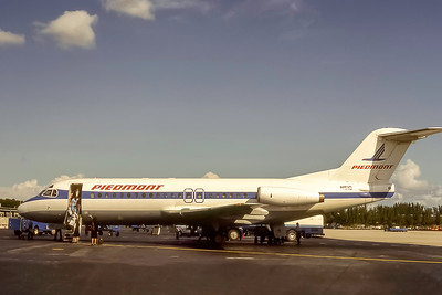Piedmont Airlines, N510, Fokker F28-4000, msn 11167, Photo by J. Fernendez Collection, Image F025LGJF