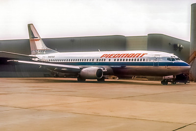 Piedmont AIrlines, N407US, Boeing 737-401, msn 23877, Photo by John A Miller, GSO, Image L002RGJM